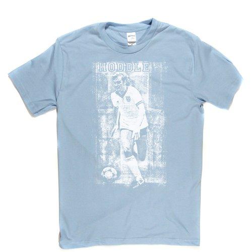 Glen Hoddle Football Footy Fan Tee T-shirt Himmelblau
