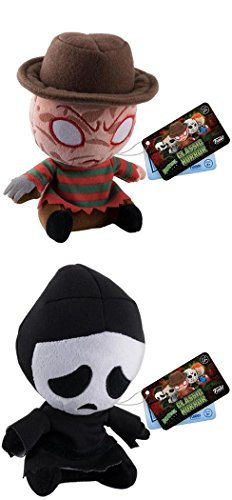 Funko Mopeez Horror: Freddy Krueger + Ghost Face (Scream) – Plush Toy Figure Set NEW