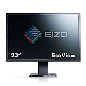 Eizo FlexScan EV2316W-FSBK Ecran PC LED 23'' (58,4 cm) 1920x1080 5 ms Display Port/DVI-D24 Broches