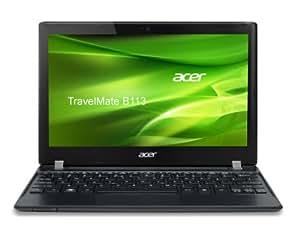 Acer TravelMate B113-M-323A4G32IKK 29,5 cm (11,6 Zoll) Notebook (Intel Core i3 2377M, 1,5GHz, 4GB RAM, 320GB HDD, Intel HD 3000, kein Betriebssystem) schwarz