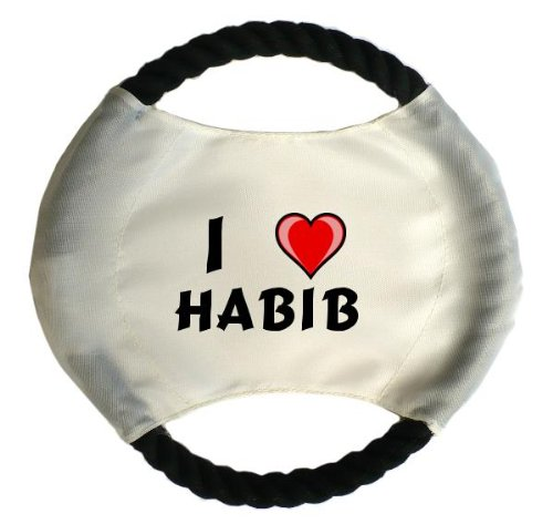 personalisierter-hundefrisbee-mit-aufschrift-ich-liebe-habib-vorname-zuname-spitzname