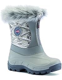 01b2f5db7421 Olang Girls Nancy Lux Snow Boots (35-36 EU (2.5-3.5 UK