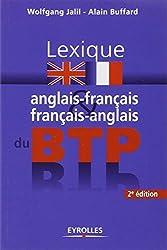 Lexique anglais-français et français-anglais du BTP