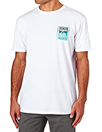 Tee shirt Quiksilver Walled Up Blanc