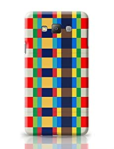 PosterGuy Samsung Galaxy A7 Case Cover - Multicolor checkered pattern | Designed by: DesignerChennai