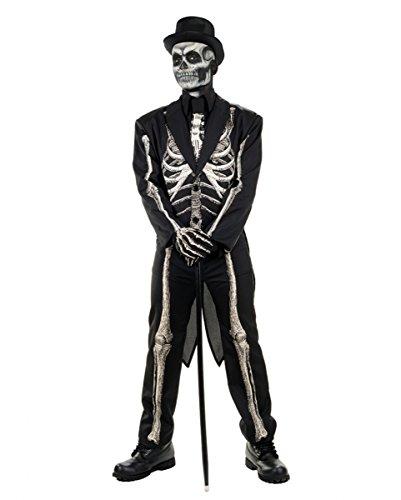 Skelett Anzug Kostüm Frack für Halloween (Halloween Für Anzüge)