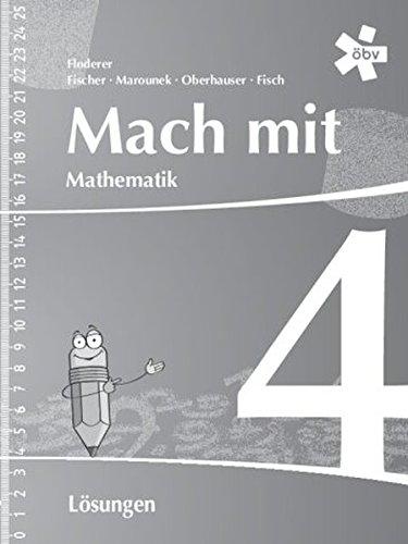 Mach mit Mathematik 4, Lösungen