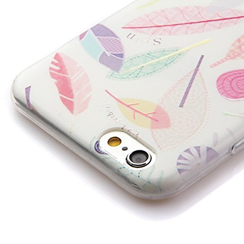 iPhone SE Hülle,iPhone 5S Hülle,iPhone 5 Hülle,NSSTAR Soft TPU Schutzhülle für iPhone 5,iPhone 5 Blume Muster Hülle Ultra Slim Perfect Fit Gel Cover Tasche Bunte Kreative Schutz Case Handytasche Handy 16#,TPU