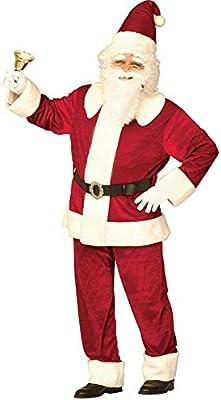 Disfraz Papá Noel súper lujo hombre
