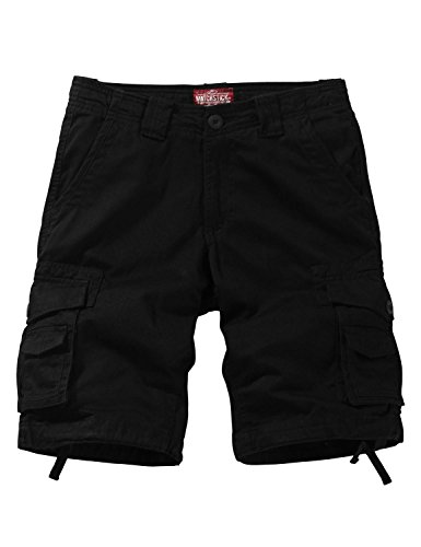 Match Herren Cargo Shorts #S3612(3612 Schwarz,46 (Tag Size 2XL/36))
