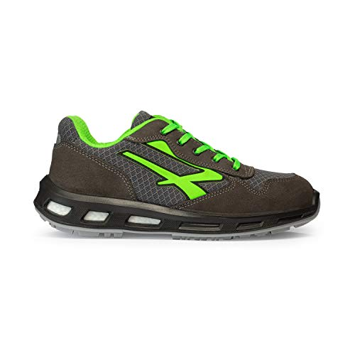 U-Power RL20036 RedLion Point S1P SRC - Scarpe antinfortunistiche con suola Infinergy, Grigio scuro, 42 EU