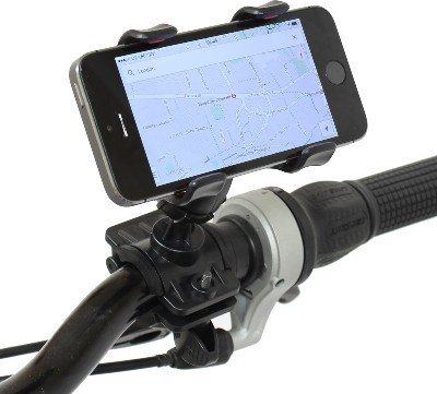 Finger's Polycarbonate Universal Handlebar 360 Degree Rotation for All Bicycle Mobile Holder