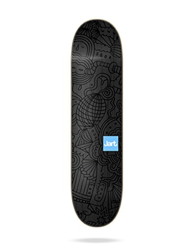 Jart JABL8B02-01 Tablas Skateboard, Unisex Adulto, Negro, Talla Única