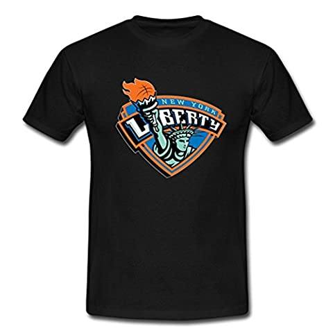 Teelife Custom Men Tees Shirt New York Liberty Basketball Team Uniform XX-Large