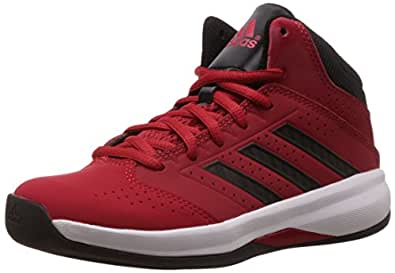 adidas Unisex Isolation 2 K Bright Red, Core Black and White Sports Shoes  - 6 UK/India (39.3 EU)