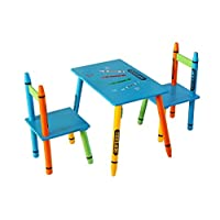 Bebe Style Childrens Wooden Table and Chair Set