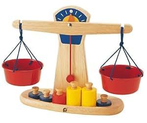 Djeco-balance En Bois + 6 Poids [Jouet]