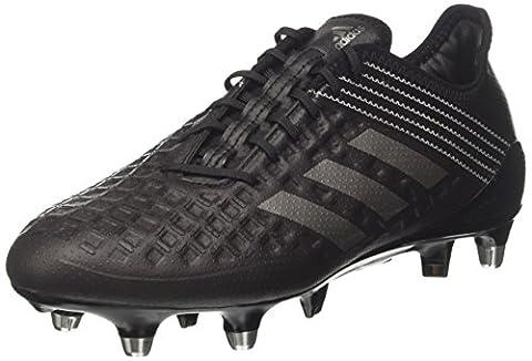 adidas Men's Predator Malice Sg Rugby Shoes, Black (Core Black/Night Met /Utility Black), 9.5 UK