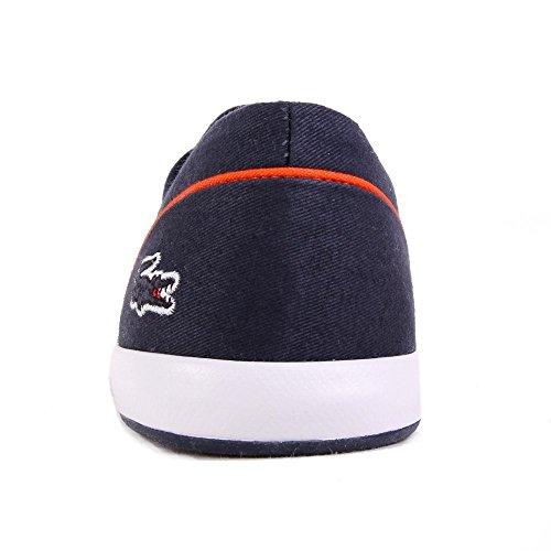 Lacoste Lancelle Lace 3 Eye 216 2 SPW Navy Orange Bleu