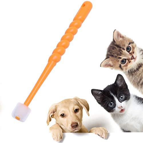 Balacoo Hundezahnbürste für kleine Hunde, 360-Grad-Zahnbürste für Welpen, kleine Katzen und Welpen, wie Chihuahua, Yorkie Zahnbürstenfarben können variieren -