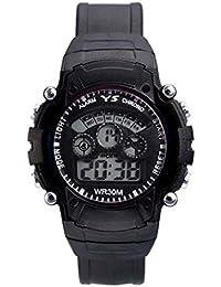 DK Enterprise Casual Digital Black Dial Boys Watch - DK -3801