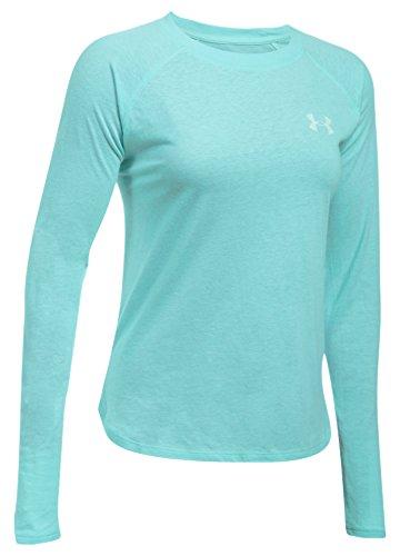 Under Armour Damen Graphic Triblend LS Langarmshirt, Blue Infinity Light, S