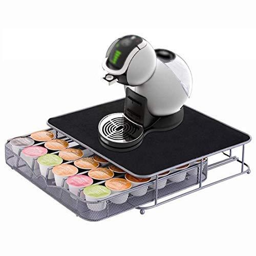 Jjonlinestore - cialde di caffè girevole custodia tassimo dolce gusto nepresso organizer portaoggetti - 36 capsule