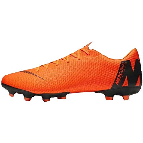 Nike Unisex-Erwachsene Mercurial Vapor XII Academy MG Fitnessschuhe Mehrfarbig (Total Orange/Black-T 810) 44 EU