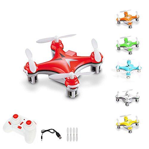 *4-Kanal 2.4GHz RC ferngesteuerter Nano Mini Drohne mit 6-axis Gyro, 3D Loopings, Komplett-Set inkl. Ersatzteil-Set*