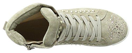 Kennel und Schmenger SchuhmanufakturQueens - Scarpe da Ginnastica Basse Donna Beige (natur/silver Sohle Weiss)