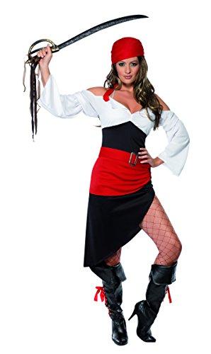 Le Corsaire Kostüm - Generique - Buccaneers Bounty Piratenkostüm für Damen S