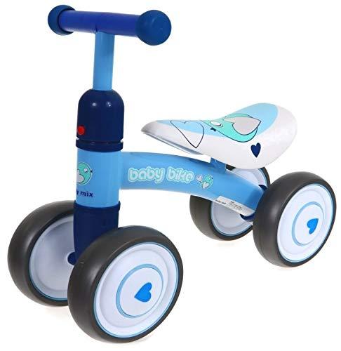 Babymix Lauflernrad ab 1 Jahr mit Gummireifen, blau UR-ET-Z7