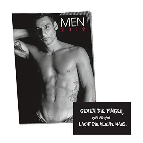 Kalender 2019 Men Wandkalender, Erotikkalender inkl. Magnet Spruch