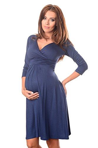 Purpless Maternity Herrlich V-Ausschnitt Kleid Mutterschaft Kleidung Top 4400 Jeans