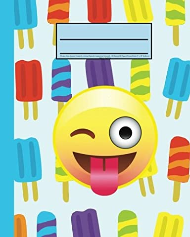 Primary Story Journal, Grades K-2, Emoji Popsicle Composition Notebook: Primary