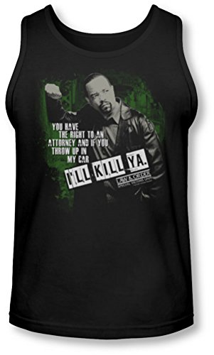 Law & Order: Special Victim'S Unit - Law & Order: Special Victim der Einheit - Herren ich töte Ya Tank Top Black