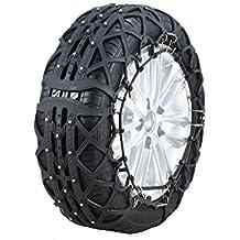 yixin - Espesor Universal de Cadena de neumático de Nieve para SUV de Cadena Antideslizante de