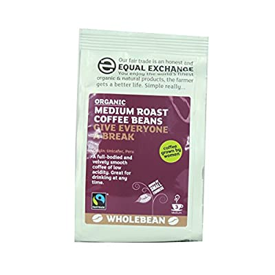 Equal Exchange - Medium Roast Coffee Beans - 227g by Equal Exchange