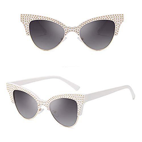 Syeytx Frauen Weinlese Augen Sonnenbrille Retro Eyewear Art und Weisestrahlungsschutz 8 Farben