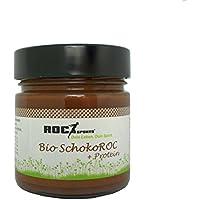 Preisvergleich für RoC-Sports Bio Haselnuss-Creme SchokoROC | Bio Protein Schoko-Creme als feiner Brotaufstrich | 100% Bio Qualität...