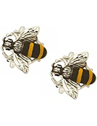 Bee Cufflinks. Premium Quality Cufflinks from the Dalaco Novelty Collection. Luxury cuff links from the unsurpassed Dalaco range. Now with high quality presentation box and pen. Made in England.