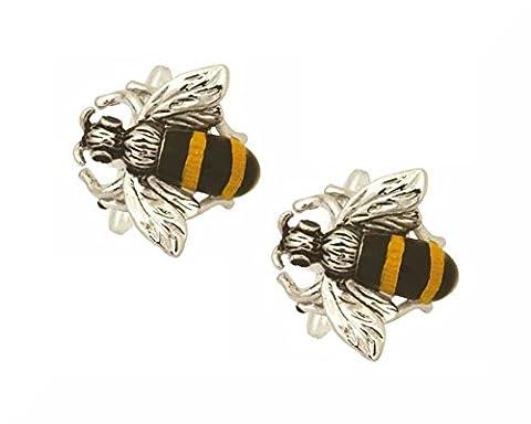 Dalaco Boutons de manchette en boite Fabriqués en Angleterre., abeille