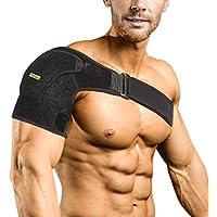 Verstellbare Schulterbandage Kompression Schulterschutz Schultergurt für AC-Gelenke, Sehnenentzündungen, Sportverletzungen... preisvergleich bei billige-tabletten.eu