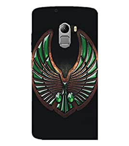 PrintDhaba Abstract Image D-5114 Back Case Cover for LENOVO VIBE X3 c78 (Multi-Coloured)