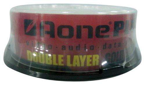 aone-dvd-r-8x-dual-layer-logo-25-pack-gold-edition