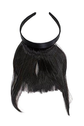 WIG ME UP  - HA071T-4 Clip-in Pony mit Haarreif und längeren Seitenhaar, besonders natürliche...