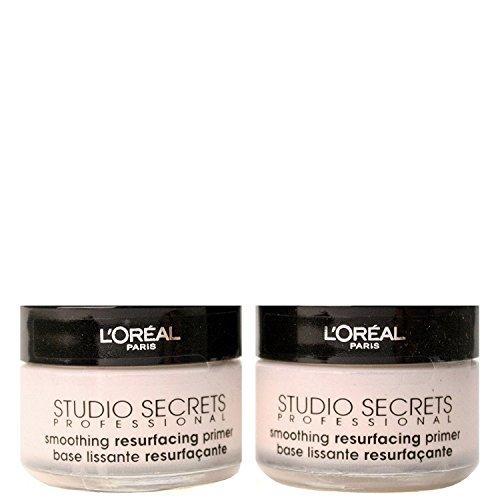 L'Oreal Studio Secrets Resurfacing Primer, 2er Pack (2 x 15ml)