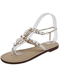 d3b5b3d2d1362e Lolittas Women Glitter Sparkly White Flip Flops Thong Sandal Flat