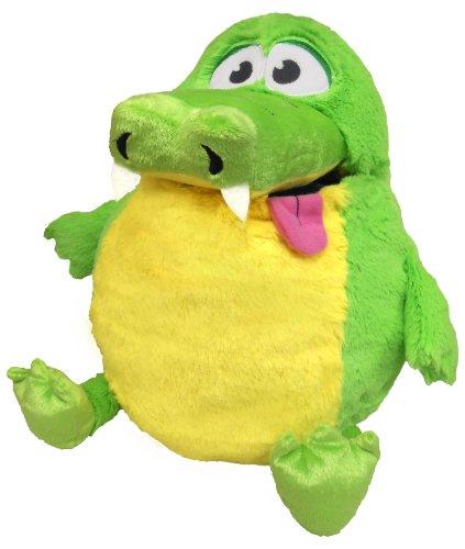 Tummy Stuffers Green Gator Plush Toy by Tummy Stuffers