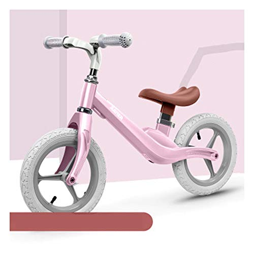 LXFDS Kinder Kinder Balance Auto ohne Tretroller Kinder 1-4 Jahre alt Roller, yo Auto, Balance Auto-Pink